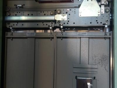 drzwi kabinowe fermator jeden panel z wziernikiem